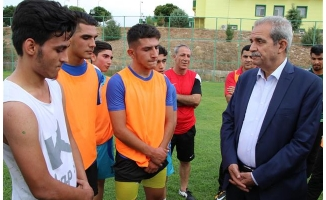 Demirkol'dan Şanlıurfaspor'a destek ziyareti