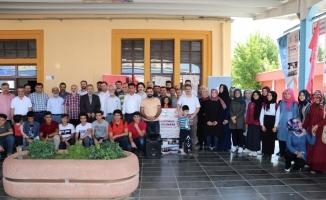 Diyarbakır'dan 50 öğrenci Bosna Hersek'e uğurlandı