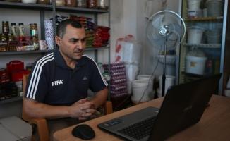 """""""FIFA kokartlı"""" bakkalın buruk Dünya Kupası heyecanı"""