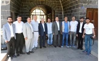 HÜDAPAR Genel Başkanı Yavuz Siverek'te