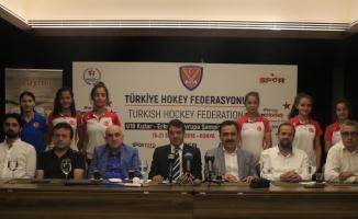 Konya'da hokey heyecanı