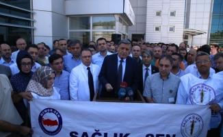 Urfa'da doktorun darp edilmesi kınandı!