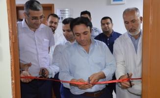 Akif İnan Hastanesinde kütüphane açıldı