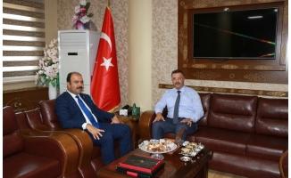 Başkan Çiftçi, Başsavcı Öztoprak'ı ziyaret etti