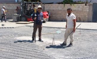 Ceylanpınar'da sokaklar kilitli parke ile kaplanıyor
