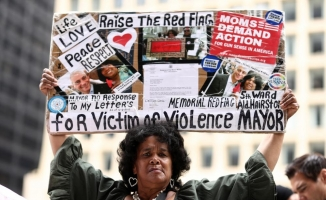 Chicago'da savaş karşıtı protesto