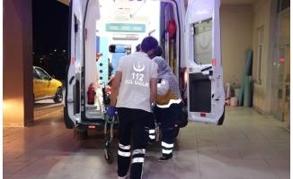 Çöken evin altında kalan baba öldü, kızı yaralandı