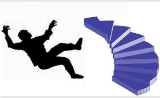 Suruç'ta merdivenden düşen kişi öldü