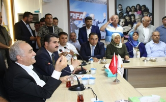 Fakıbaba AK Parti teşkilatını ziyaret etti