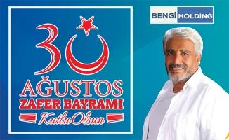 İbrahim Bengi 30 Ağustos'u kutladı