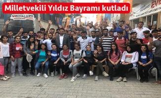 Milletvekili Yıldız hemşehrilerinin bayramını kutladı