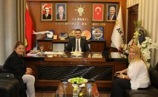 MKYK Üyesi Polat, Başkan Yıldız'ı ziyaret etti