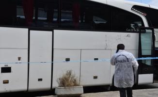 Otobüs şoförü bagajda ölü bulundu