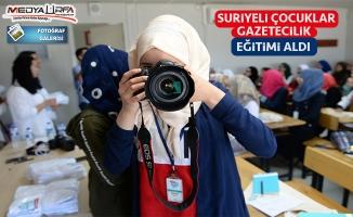 Şanlıurfa'da savaşın çocukları gazeteci olacak