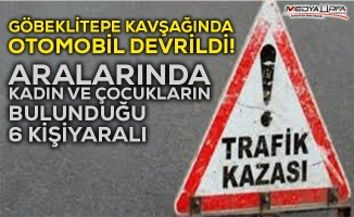 Urfa-Mardin yolunda trafik kazası: 6 yaralı