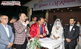 Abdülkadir Açar oğlunu evlendirdi!
