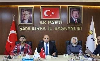 AK Parti Urfa'da yerel yönetimler birim toplantısı