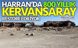 Han el-Barur Kervansarayı'nda restorasyon başladı