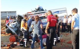 Hilvan'da trafik kazası: 1 ölü