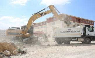 Karaköprü Seyrantepe'ye yeni yollar kazandırılıyor