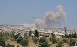 Rusya ve Esed rejimi Hama ve İdlib'i vurdu