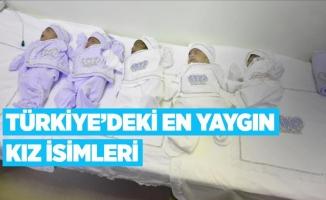 Türkiye'de en popüler kız isimleri