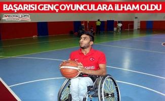 Urfalı engelli basketbolcunun milli gururu