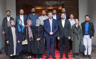Ak Parti Gençlik Kollarından Büyükelçi Önen'e Ziyaret