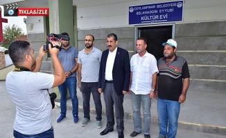 Başkan Atilla, Selahaddin Eyyubi Kültür Evi'nde İncelemelerde Bulundu