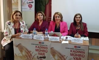 CHP Kadın Kolları Güneydoğu Anadolu Bölge Toplantısı Yapıldı