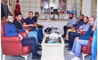 Crısıs Aıd'den Başkan Atilla'ya Ziyaret