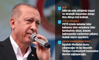 Cumhurbaşkanı Erdoğan: İdlib'de Elde Ettiğimiz Başarıdan Dolayı Tüm Dünya Bizi Kutladı