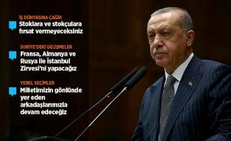 Erdoğan: AK Parti'nin kapıları herkese açık