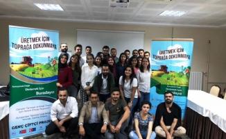 Genç Çiftçiler Urfa'da Buluştular