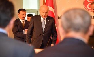 MHP il Başkanları Toplantısı