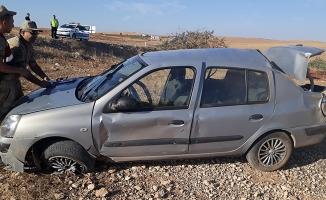 Şanlıurfa'da Otomobil Takla Attı 4 Yaralı