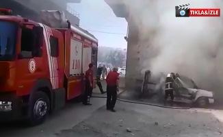 Şanlıurfa'da Bir Araç Daha Kundaklandı