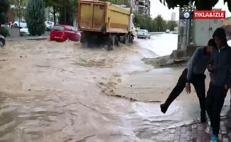 Şanlıurfa'da Yağan Yağmur Etkili Oldu