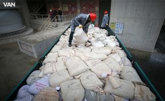 12 ton uyuşturucu fabrika kazanında imha edildi