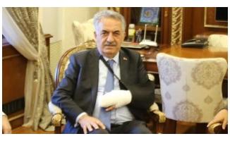 AK Partili Milletvekili trafik kazası geçirdi!