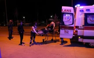 3 aracın karıştığı trafik kazasında 5 kişi yaralandı