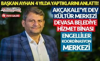 Başkan Ayhan çalışmalarını MEDYAURFA.COM'a anlattı!