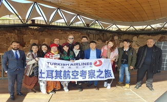 Çinli gazeteciler Şanlıurfa'da tarihi yerleri gezdi
