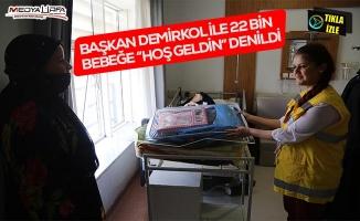 Demirkol ile 22 bin bebeğin ilk ihtiyacı karşılandı!