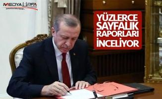 Erdoğan hangi il için özel çalışma yapıyor ?