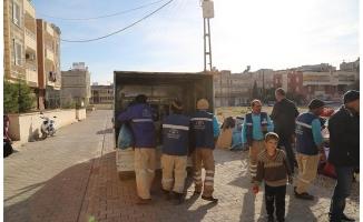 Evden çıkarılan aileye Haliliye belediyesi sahip çıktı