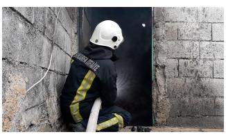 Eyyübiye'de ev yangını