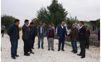 Hilvan'da kırsal mahalle çalışmaları sürüyor