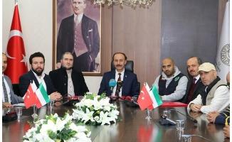 Kuveytlilerden Urfa'da, Suriyeli öğrencilere okul ve atölye