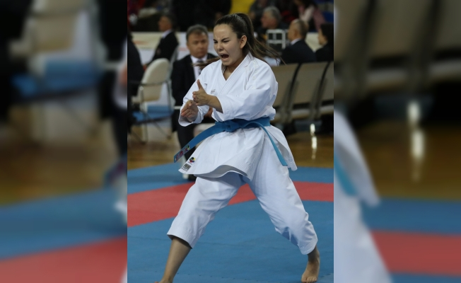 Rize'de karate şöleni